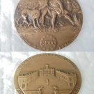 Italian BRONZE MEDAL from the ZECCA for the city of Roma 1992 engraved by Fusco