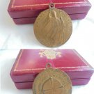 COPPER MEDAL of Pope John Paull II Wojtyla for his trip to Africa in 1985 Engraver E. Manfrini