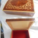 Enlay WOOD BOX for tabacco or jewelry Made in Italy Sorrento Original 1960