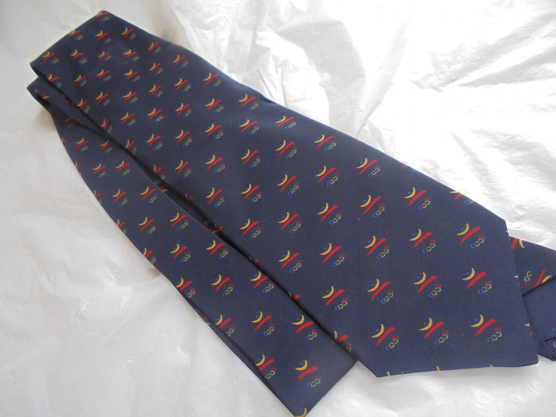 BARCELONA XXV OLYMPIC Games 1992 tie Designed by Richel Original