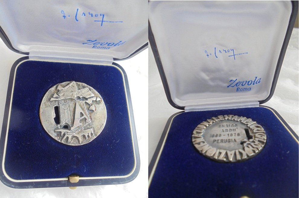 Associazione Stampa Agricola PRESS MEDAL Italy Original 1979