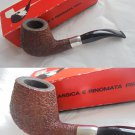 SAVINELLI LINEA PIU 5 pipe Sterling Silver 925 Made in Italy In box Original