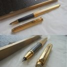 PARKER 35 MILLERAIES roller ball pen laminated gold In gift box