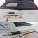 VALENTINO BALL PEN in silver sterling 925 and lacque Italy In gift box with garantee