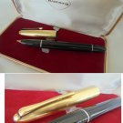 AURORA 88 fountain pen black and gold 12K Made in Italy in gift box