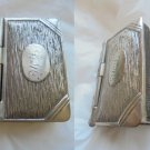 MATCHES box or PILL BOX Shape of a book for pocket or pendent Original 1960s