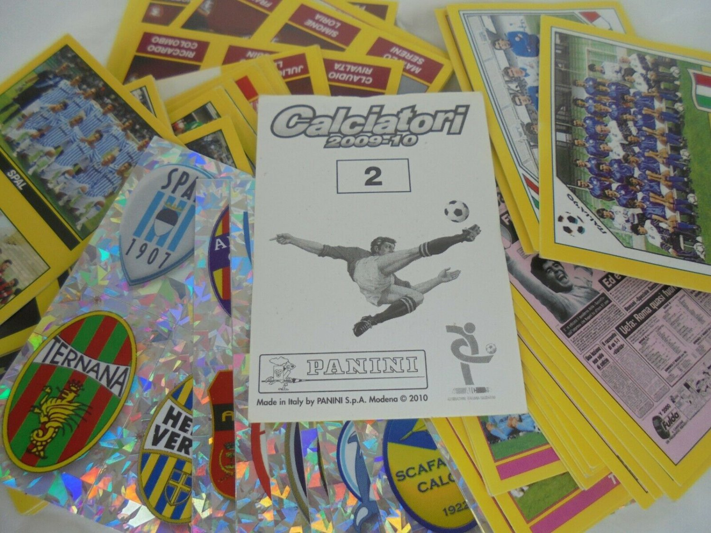 400 FIGURINE CALCIATORI PANINI 2009 2010 nuove tutte diverse Stickers pack all different