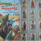 ENCICLOPEDIA DELL'INTREPIDO complete sticker album Costumes of Africa Original Italy 1949