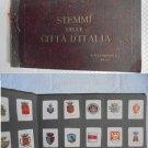 STEMMI delle CITTA' D'Italia by Achille Brioschi MI complete sticker album 1920s