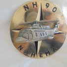 PAPERWEIGHT of the military helicopter Nahema NH 90 Original 1990s
