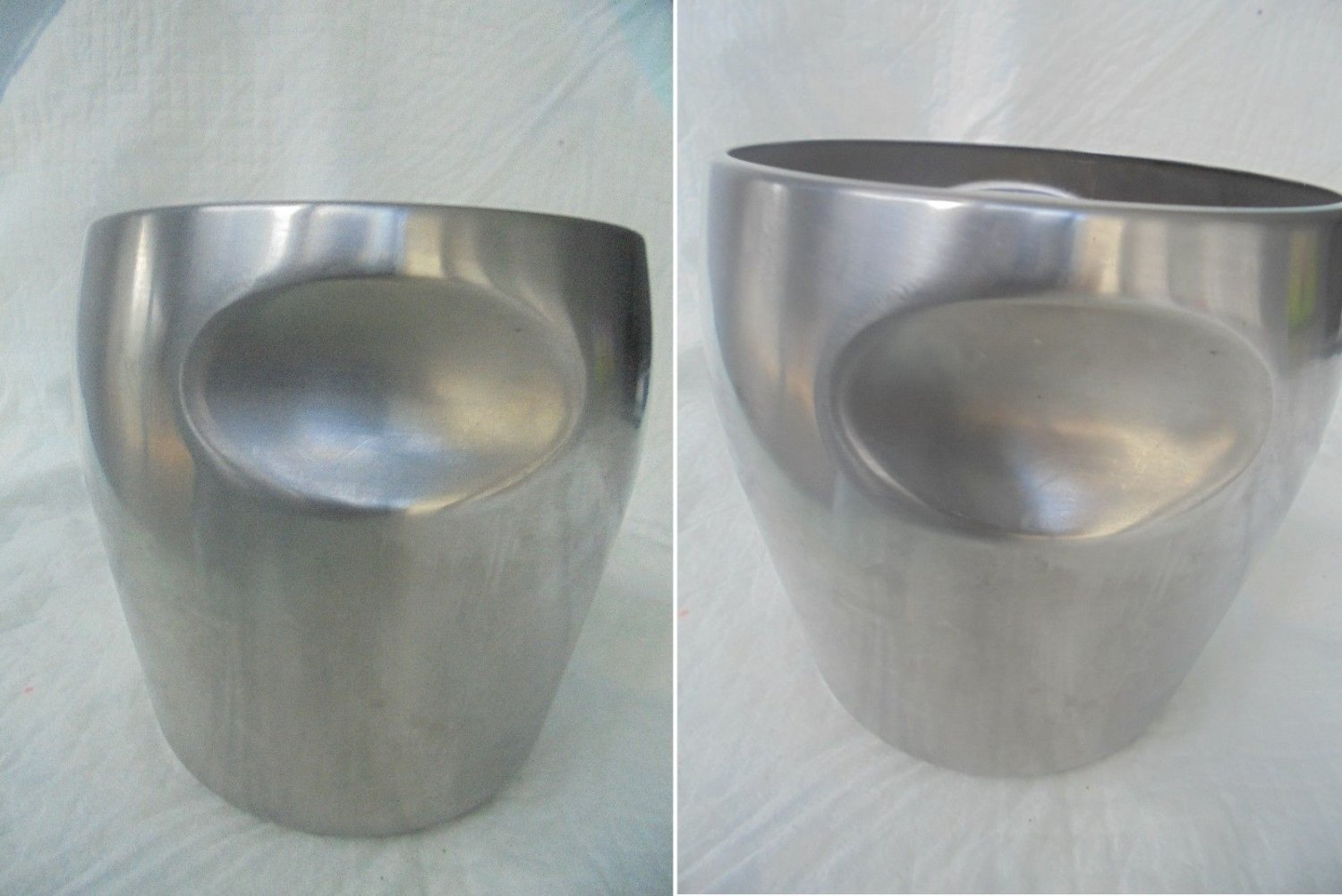 ALESSI ICE BUCKET designed by Massoni and Mazzeri stainless Steel