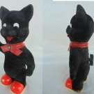 ERLO wing up TOY blak CAT West Germany 1960s Original