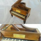 MINIATURE PIANO CARILLON box Original in wood Made in Italy 1960s