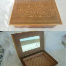 JEWELLERY BOX in arabesque WOOD Made in Italy Amalfi Original 1940s
