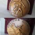 BRONZE MEDAL Johnson Italy Lazio 40th anniversary of Liberation 1944- 1984 Engraver GIandomenico