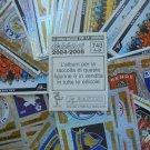 Lotto 400 FIGURINE CALCIATORI PANINI 2004 2005 New stickers pack set All different