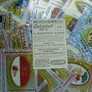 Lotto 63 Scudetti FIGURINE CALCIATORI PANINI 1998 99 - Nuove Stickers New