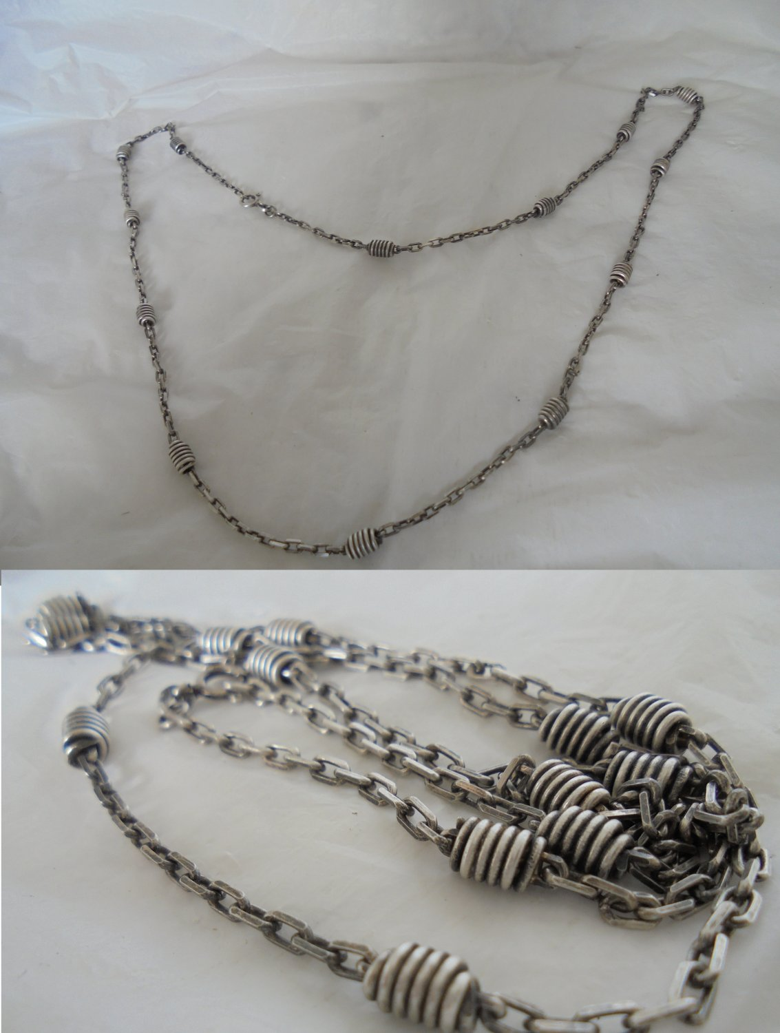 NECKLACE CHAIN in STERLING silver 925 Original from Arezzo Italy