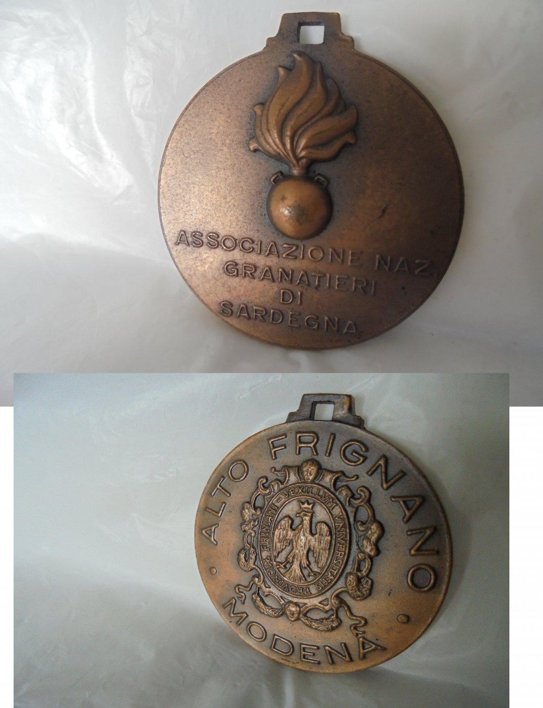 Bronze medal ASSOCIAZIONE NAZIONALE GRANATIERI di Sardegna Alto Frignano Modena