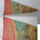 Boy SCOUTS England UK flag pennant for the coronation of Queen Elisabeth II Original 1953