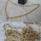 FACCO Gioielli Italy NECKLACE CHAIN Vermeil in sterling silver 925 and gold plated