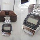 CASIO wrist WATCH MR 593 A159W Original in gift box 1970s