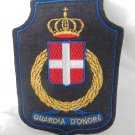GUARDIA D'ONORE ITALY military Guard of Honor crest patch in cloth Original