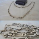 NECKLACE chain in STERLING SILVER 925 Original in gift box 1970s