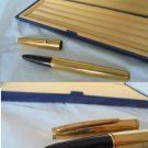 WATERMAN fountain pen in gold plated Plaque Or G In gift box