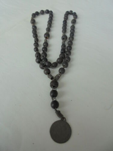 Praying rosary of the Vergin Mary Our Lady of Mount Carmel MADONNA DEL CARMINE original 1940s