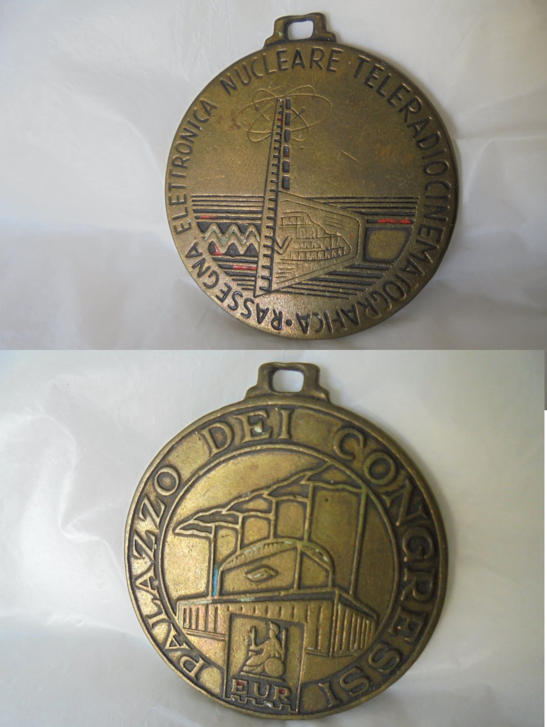 BRONZE medal Italian TV and RADIO Nuclear Electronics Convention 1987