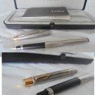PARKER CLASSIC Flighter GT Fountain pen in steel Original in gift box