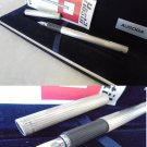 AURORA HASTIL fountain pen in SILVER 925 and gold 14K Original in gift box with garantee