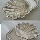 Serving Shell SPOON in STERLING SILVER 925 for caviar or for table display Original