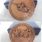 BRONZE MEDAL Italian Cavalry Pozzuolo del Friuli 1967 Military Engraver E. Granero