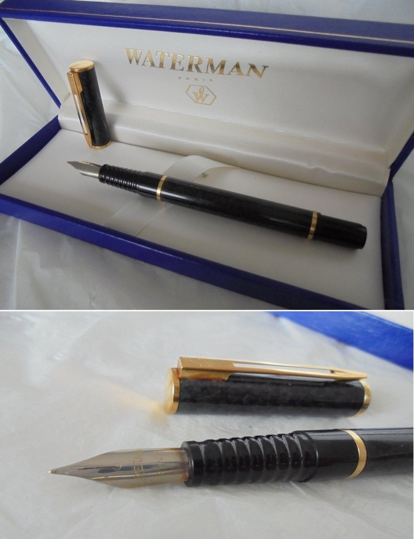 WATERMAN LAUREAT Fountain pen Lacquè Marble effect Original in gift box