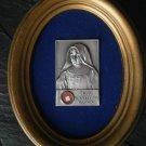 GIUSEPPINA VANNINI relic framed Reliquary Original 1994