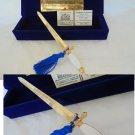 AMERIGO VESPUCCI military Italian Navy sword paper cutter Lacquè 2011 In gift box