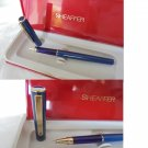 SHEAFFER SAILOR roller pen in steel lacque in blue color Original in gift box
