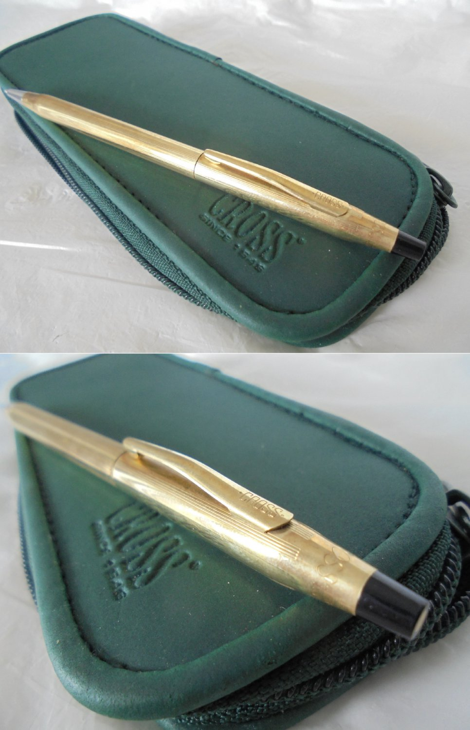 CROSS CLASSIC CENTURY ball pen in gold filed 10KT Original in gift box