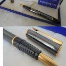 WATERMAN LAUREAT Fountain pen in steel Original in gift box with garantee
