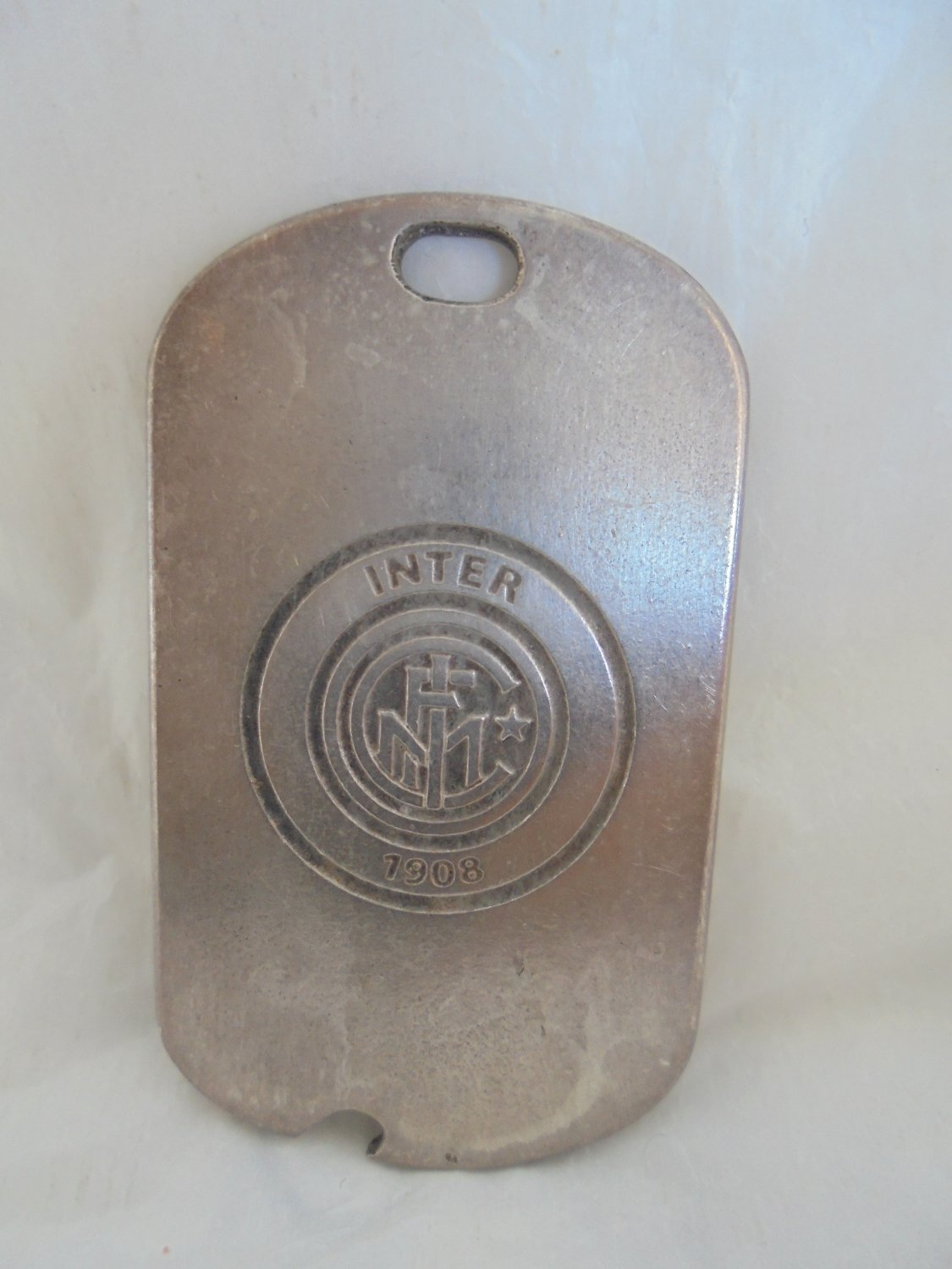 INTER CALCIO soccer team Metal pendent charm for it's 100th years anniversary 1908-2008