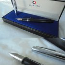 SHEAFFER SCHOOL fountain pen in black color and steel Original in gift box