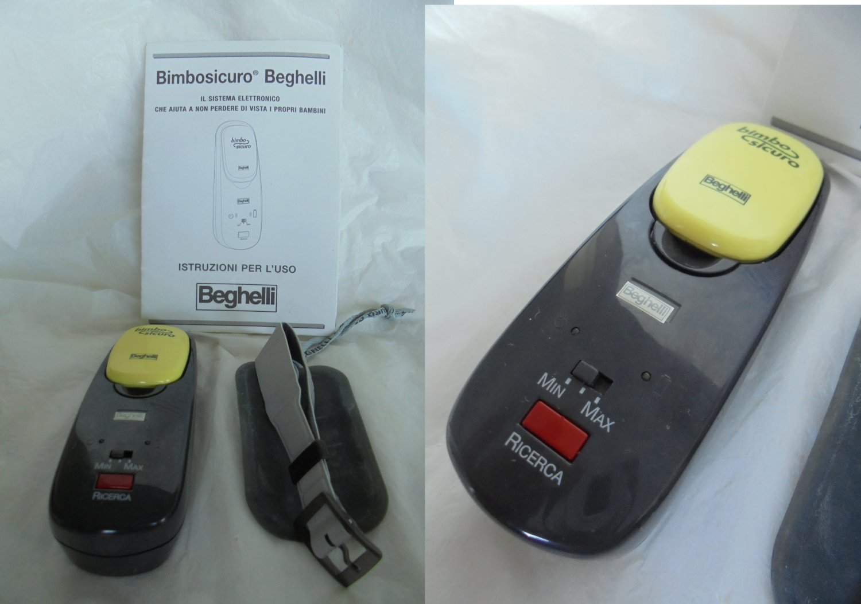 BEGHELLI CHILD FINDER Electronic Bracelet Original with instructions