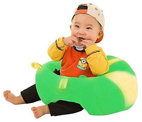 Baby Cute Cotton Support Seat Soft Chair Cushion Sofa Plush Car Seat Pillow US