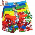 5pcs boxer boys underwear boxer briefs for boy cartoon boxers 3T