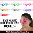 Reusable Eye Mask Hot Cold Pad Home Travel Eyes Warm Compress Assorted