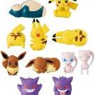 "Pokemon Hasamundesu Clip Figures Memo Holder Bandai - Set of 11 (1.1""-2.2"") (113713)"