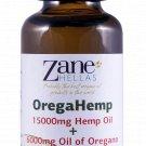 OregaHemp.15000mg Hemp Oil,6000mg of Essential Oregano oil.Supports Pain,Anxiety,Stress Relief 1floz