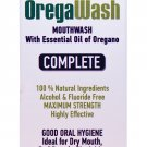 OREGAWASH Oregano Oral Rinse.100% Natural. 1Fl.Oz. Ideal for Gingivitis, Plaque, Bad Breath Support.